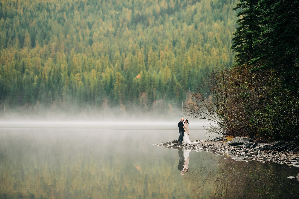 Bowman Lake Elopement - Glacier National Park, MT