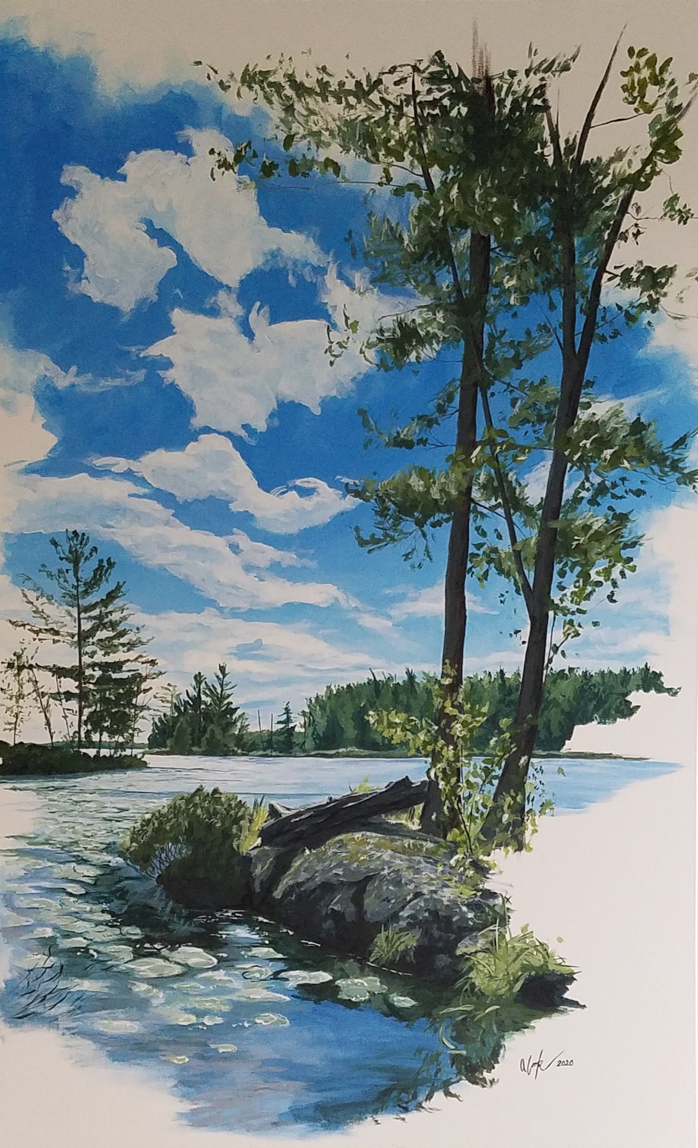 """Islands of Stoney Lake #2"" SOLD"