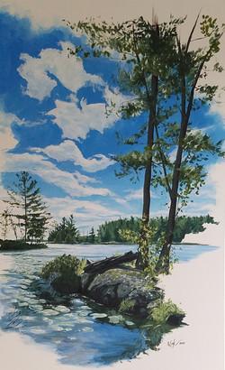 """Islands of Stoney Lake #2"" SOLD"