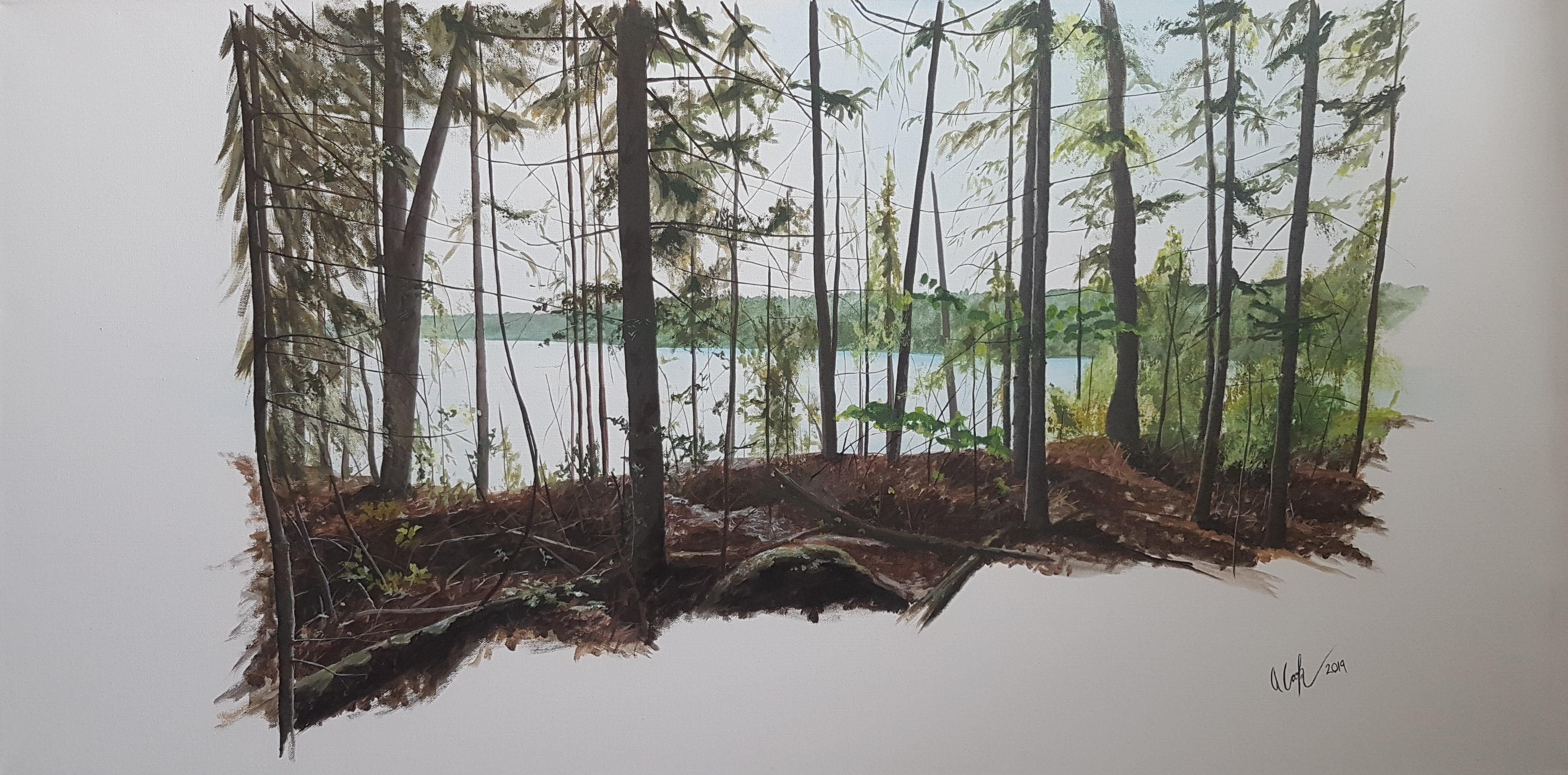 """""""In the Woods #3"""" SOLD"""