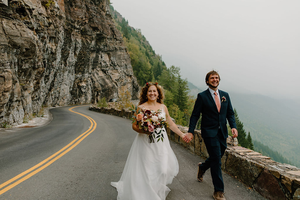 Glacier National Park Elopement