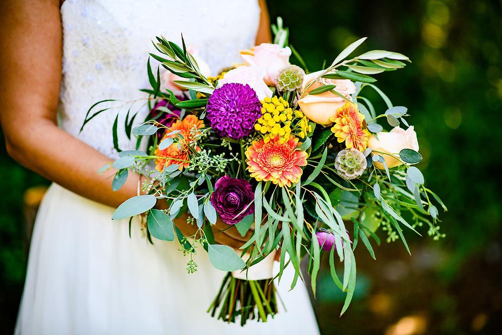 Fall Inspired Wedding Bouquet