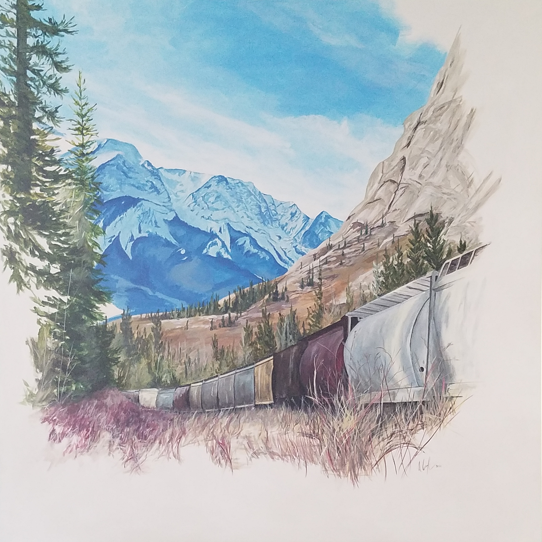 Mountain Pass #4