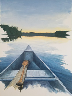 Evening Paddle SOLD