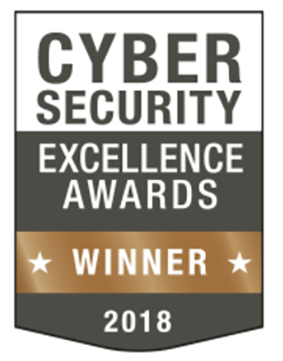 Cybersecurity Excellence Award Bronze Winner Badge