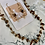Thumbnail: Squiggles & Crystal Necklace