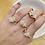 Thumbnail: Rose Quartz Ring