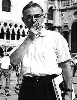Jean-Paul Sartre in Venice