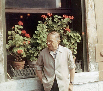 Jean-Paul Sartre in 1967