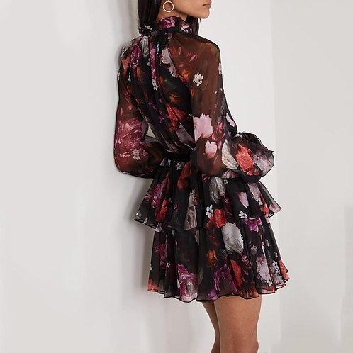 RG Floral Perfection Mini Dress