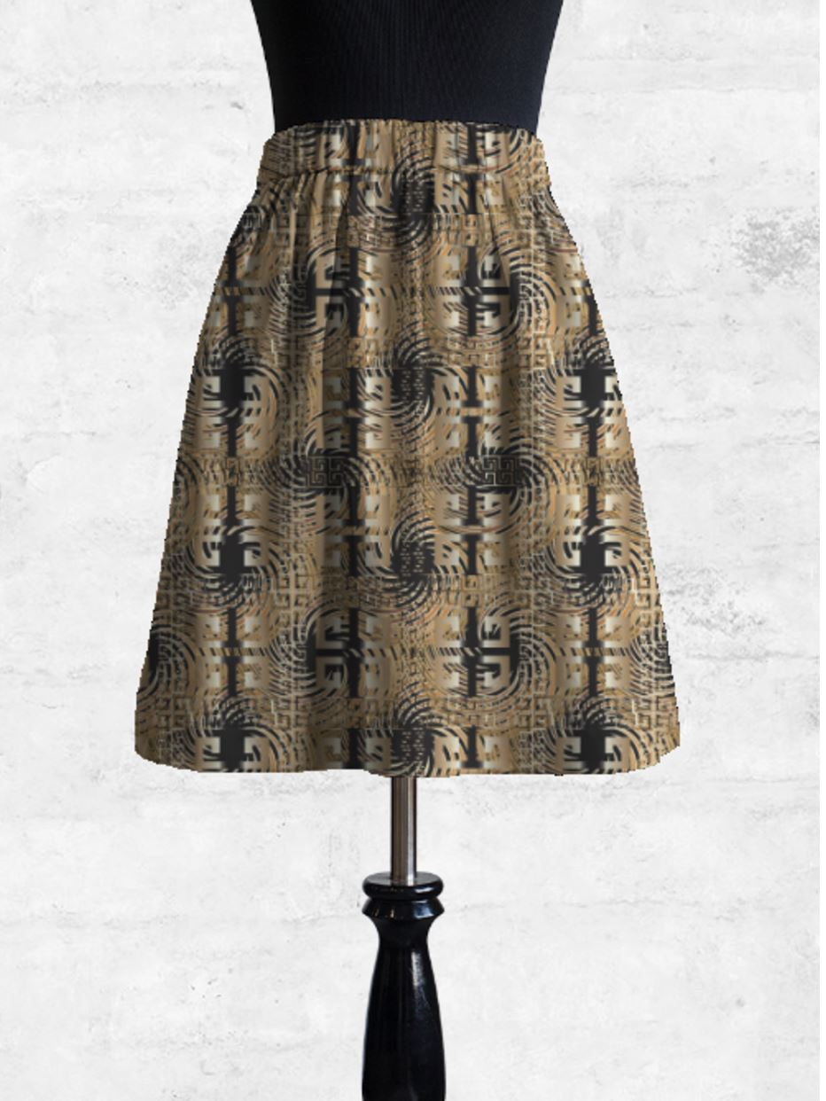 Casa-Scumaci Cupro Skirt - Copy