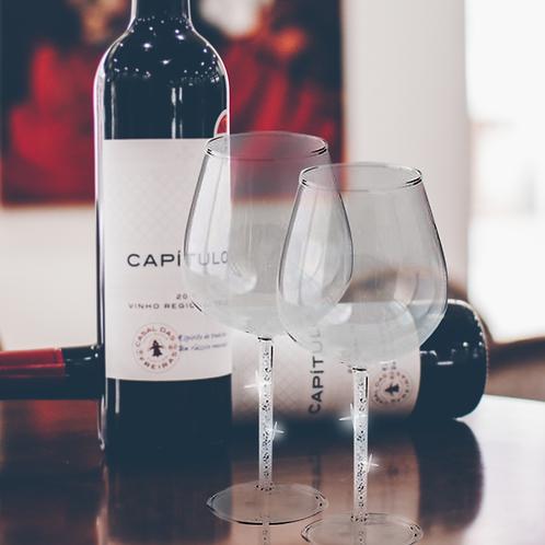 RG Signature Wine Glasses (Set of 2)