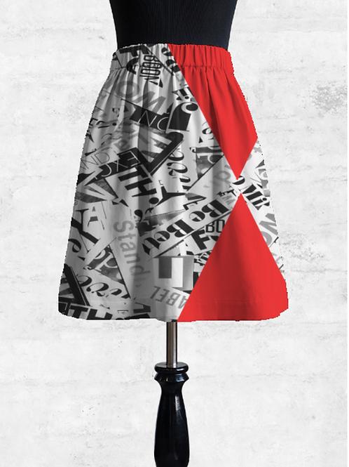 News of the world mini skirt