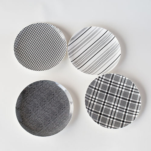 Haberdashery Salad Plates (Set of 4)