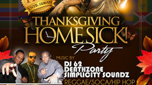THANKSGIVING HOMESICK PARTY... FREE COQUITO AND FREE TURKEY PATE!!!! 11.29.2013