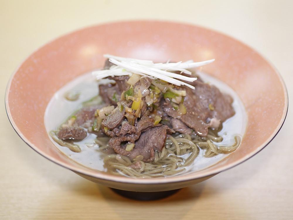 牛タン蕎麦