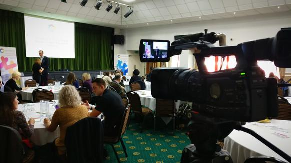 Filming presentations and talks
