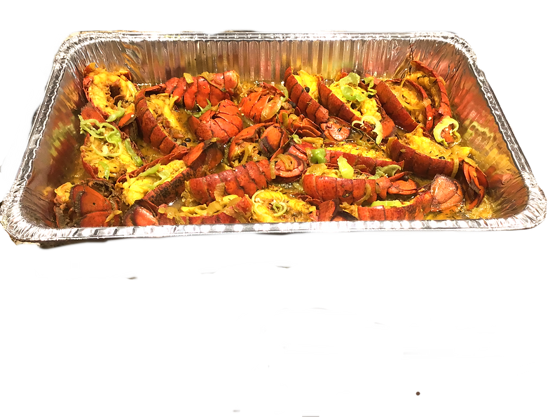 CURRIED LOBSTER TAIL