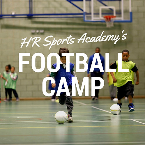 Friday 7th August Football Camp 09:00-12:00