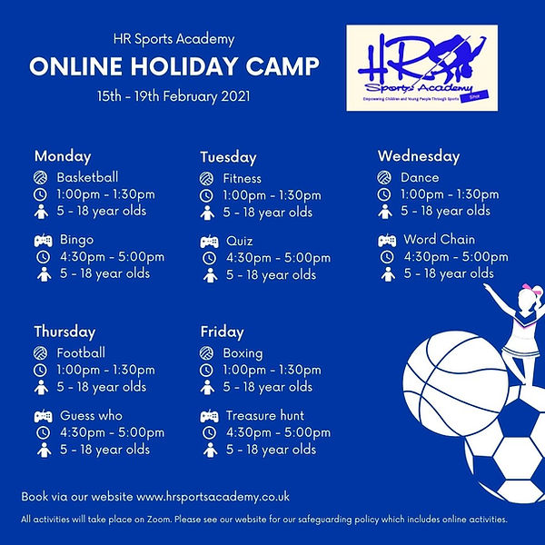 HR Sports Academy Online Activities (1)