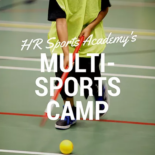 Monday 10th Multi-Sports Camp 1:00-4:00