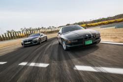 BMW 850csi & M8