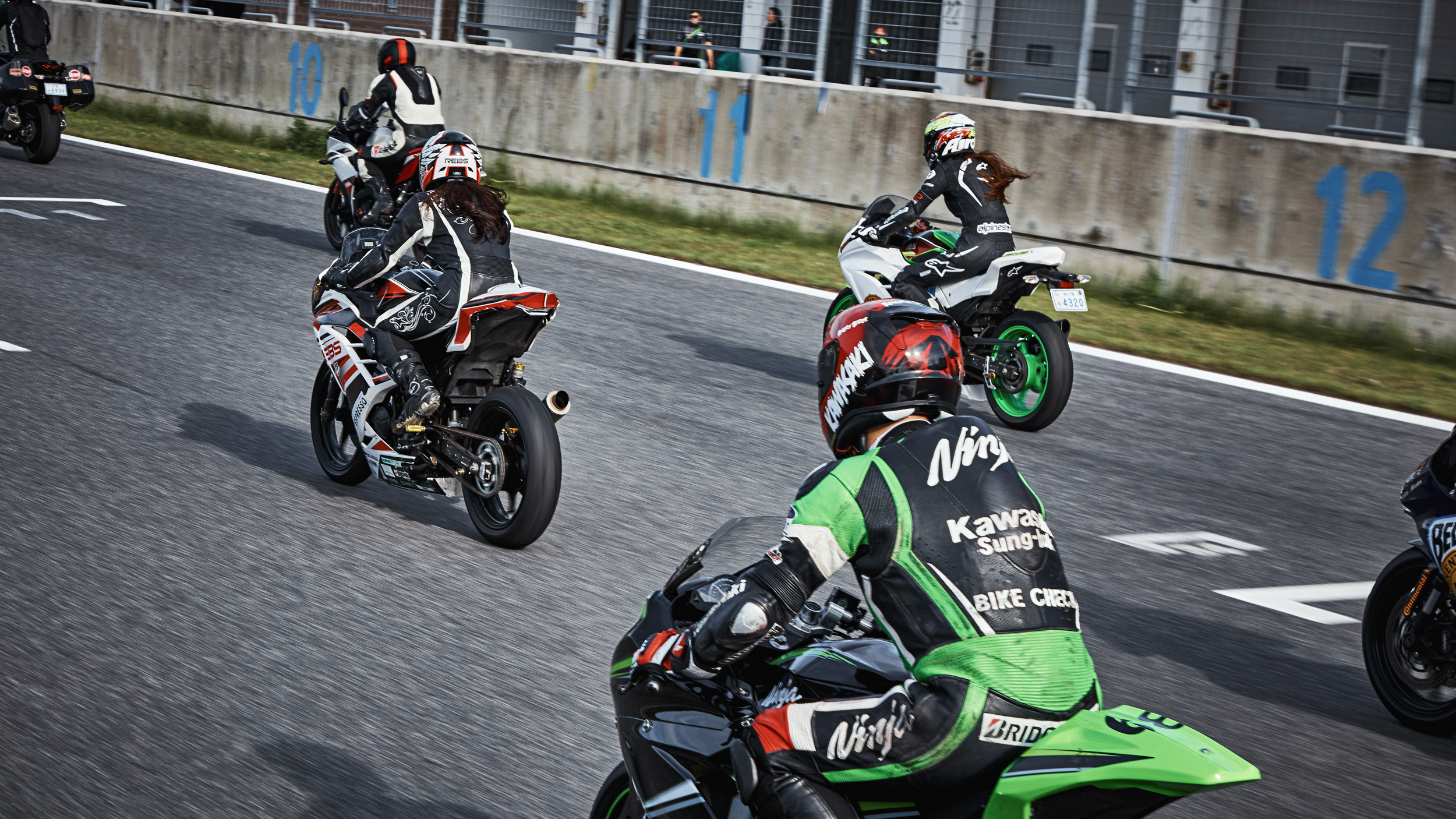 2018. Kawasaki track ride day
