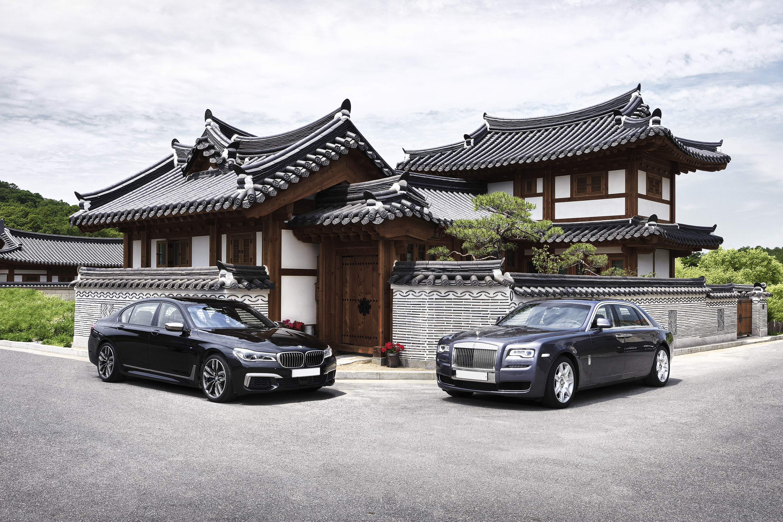 BMW M760Li & RR Ghost EWB