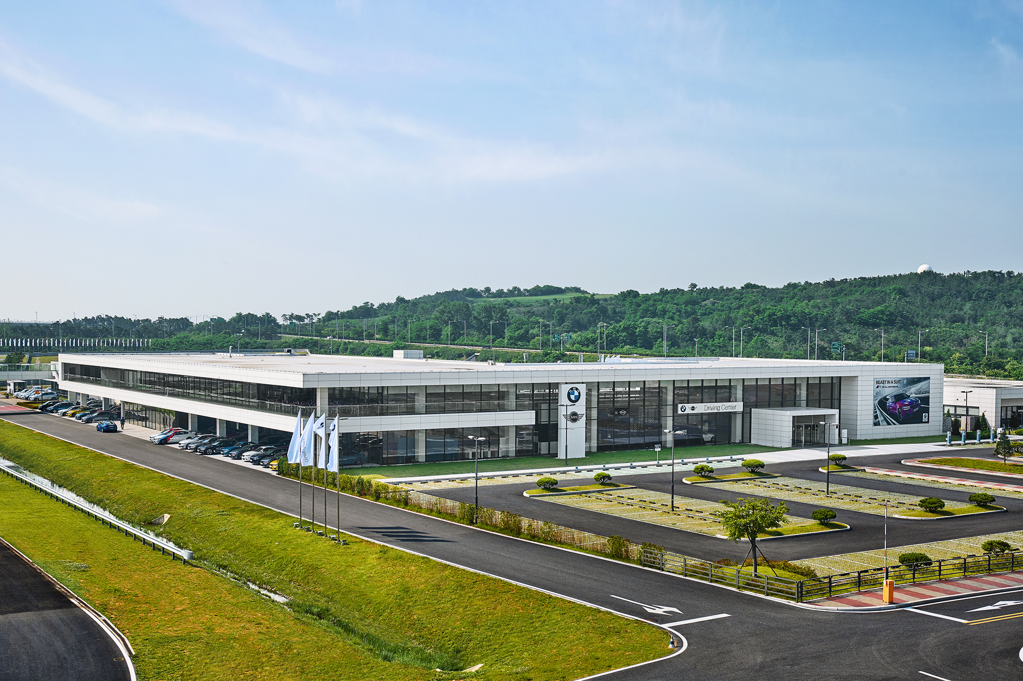 BMW Driving Center in South Korea