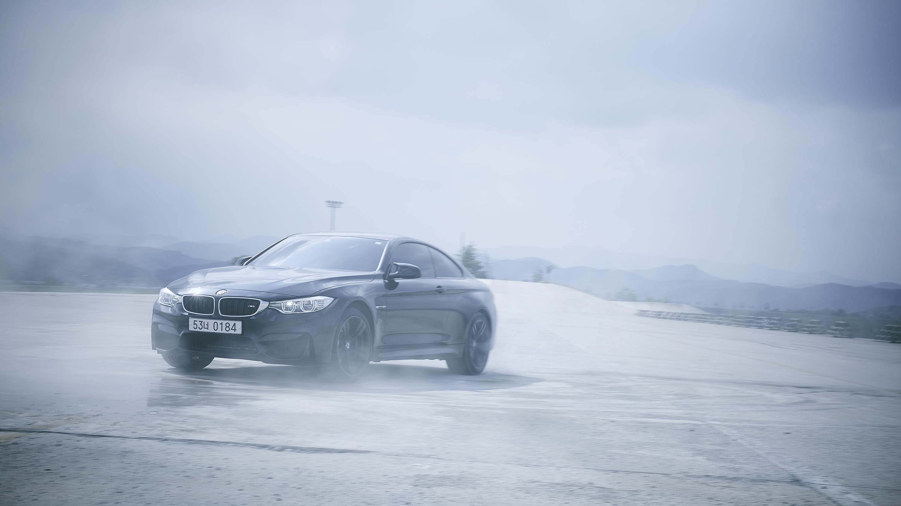 BMW F80 M4 Burnout