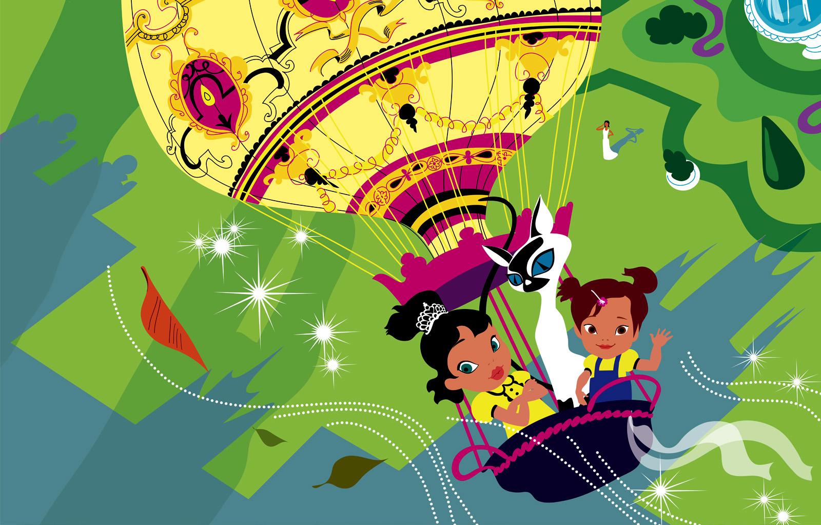Kimora Lee, children book character