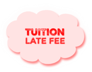Late Tuition Fee