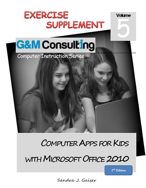 Microsoft Office for Kids Supplement