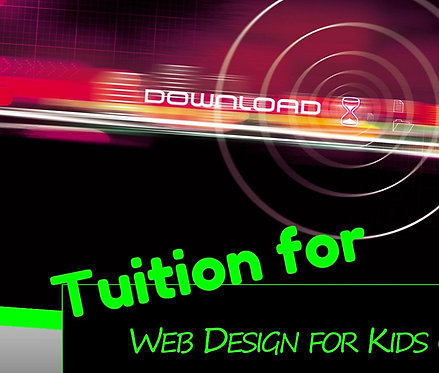 Web Design for Kids Tuition