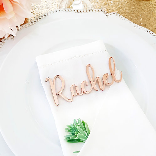 Name Place Cards - Acrylic