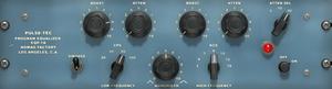 GUI of the Nomad Factory Pulse Tec EQ.