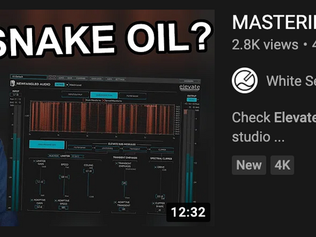 MASTERING WITH A BRAIN!?