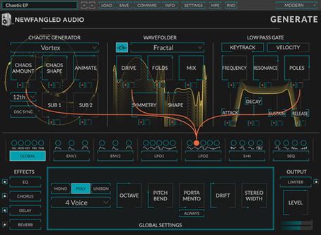 Introducing Generate! (And Model Bending Synthesis)