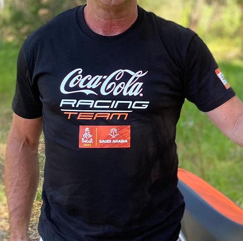 Coca Cola Racing T-Shirt & Cap