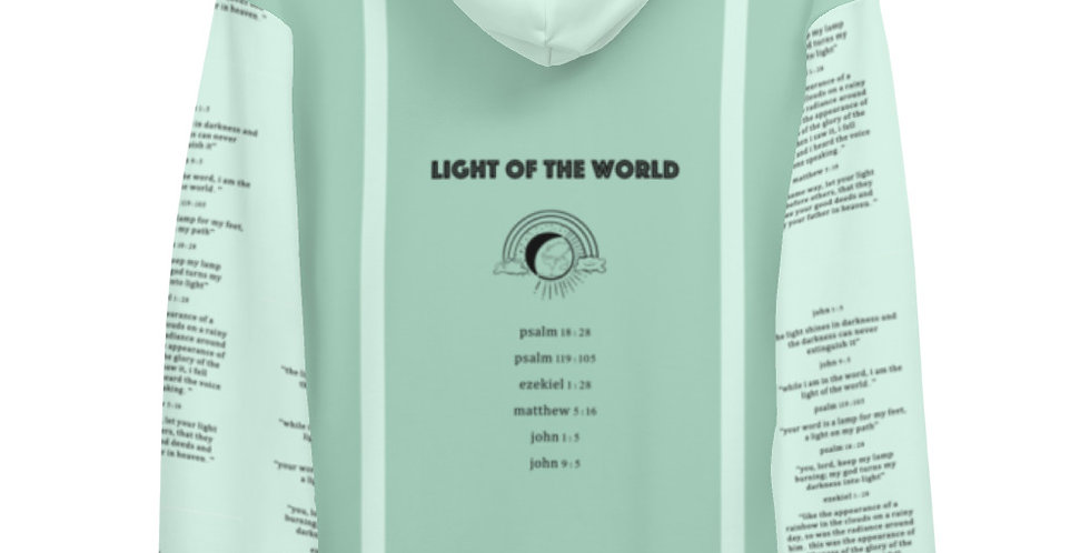 Light of the World Hoodie - Mint