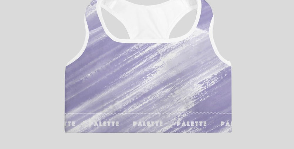 Brushed Sports Bra -Lavender