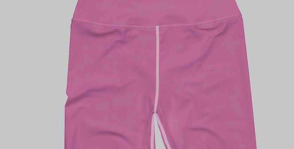 Fuchsia Biker Shorts