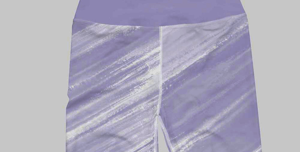 Brushed Biker Shorts- Lavender
