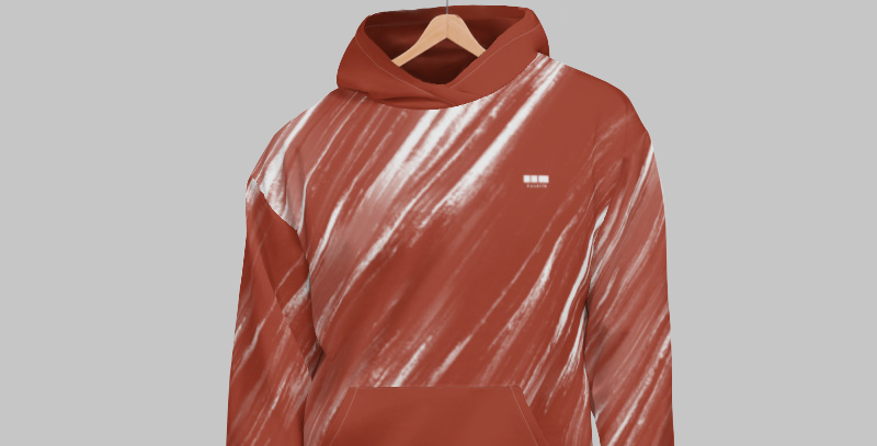 Brushed Hoodie - Burnt Orange