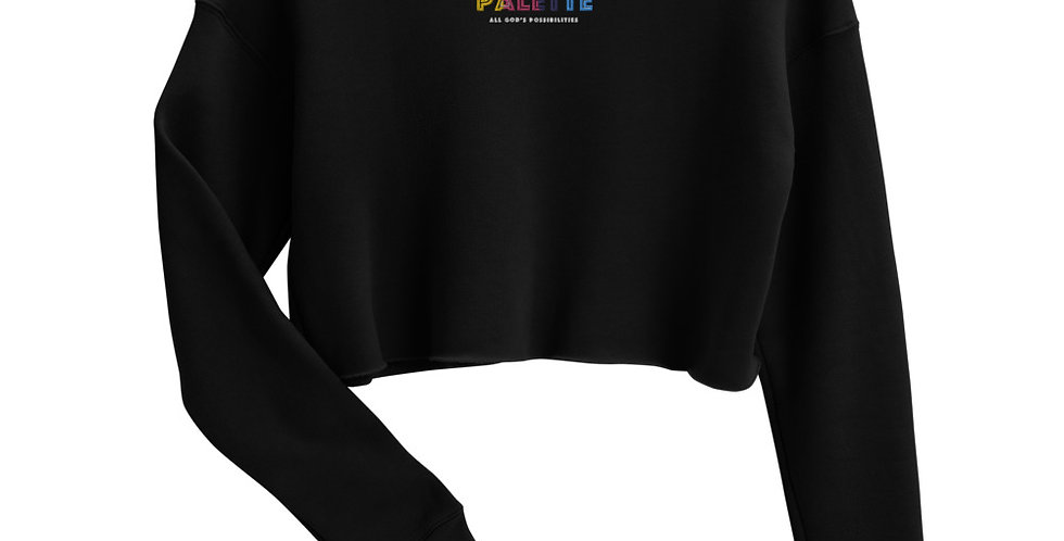 All God's Possibilities Cropped Sweater