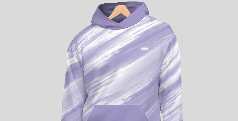 Brushed Hoodie - Lavender