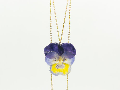 Viola necklace in 14ct gold filled