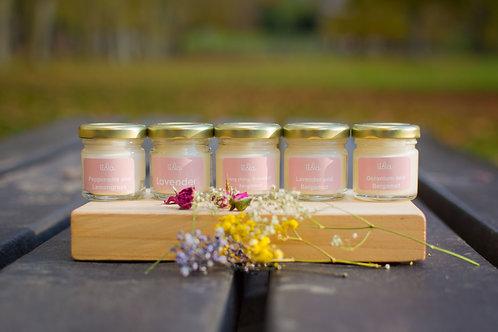 3 mini candle set