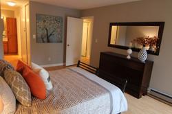 Master bedroom toward door