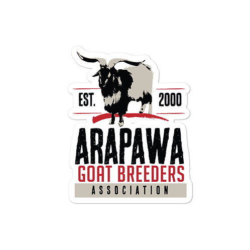 Arapawa Goat Breeders Association Stickers
